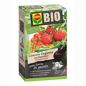 BIO Concime  Compo con Lana di Pecora per Pomodori e orticole a frutto 750 gr