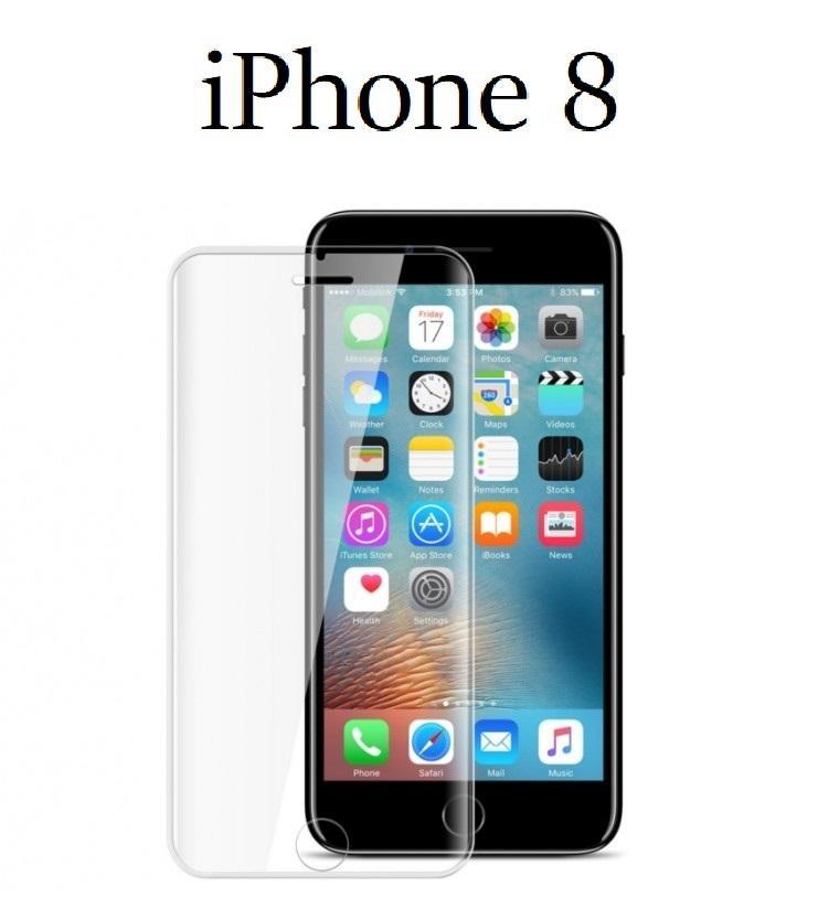 Pellicola Vetro Temperato per Apple Iphone 8 Protezione Schermo Antigraffio