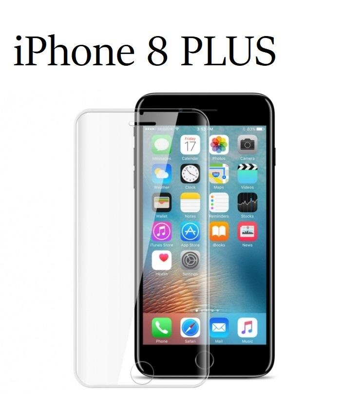 Pellicola Vetro Temperato per Apple Iphone 8 PLUS Protezione Schermo Antigraffio