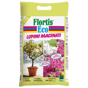 Concime BIO Lupini Macinati Flortis 4 Kg
