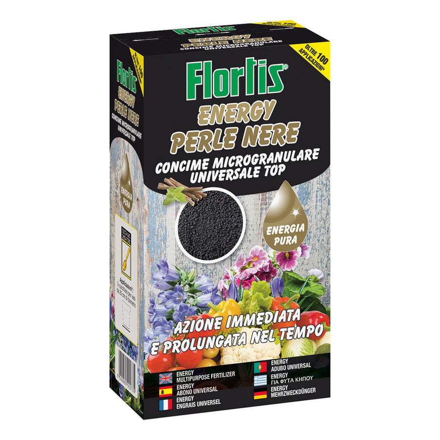 Concime Energy Perle Nere Flortis 600 gr