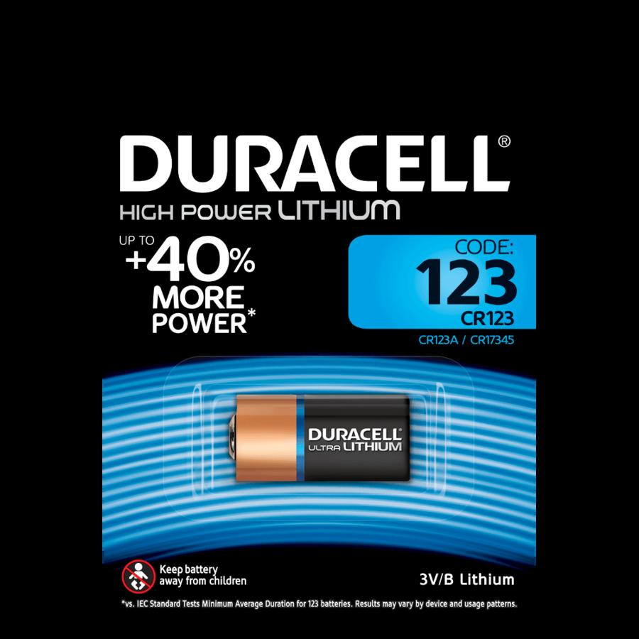 DURACELL DL123 BATTERIA BL1 LITHIUM - CONFEZIONE DA 10