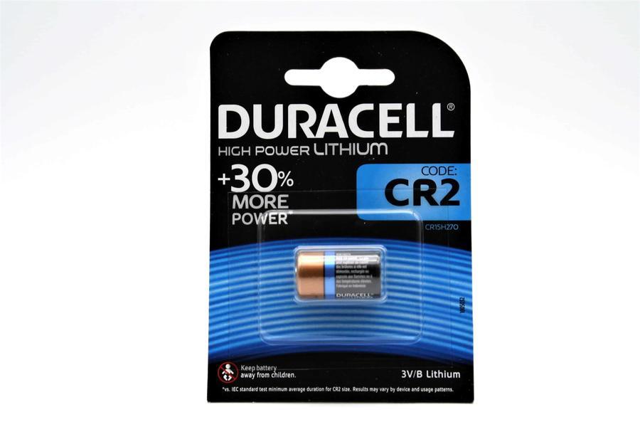 DURACELL CR2 BATTERIA BL1 LITHIUM - CONFEZIONE DA 10