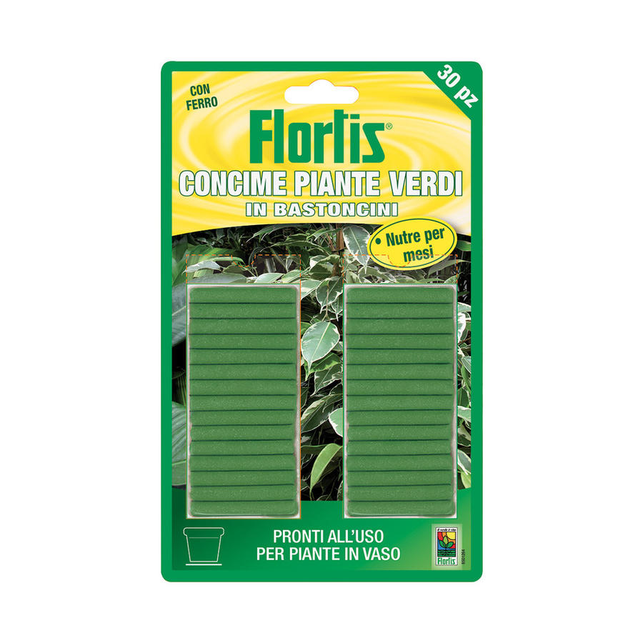 Bastoncini Piante Verdi Flortis 30 pz