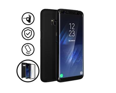 Cover Integrale Samsung Galaxy S8 Fronte Retro Protezione Custodia Vari Colori