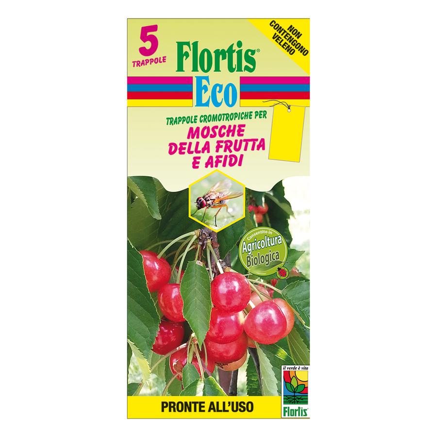 Trappola Cromotropica BIO Gialla Flortis 5 pz