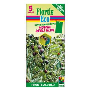 Trappola Cromotropica BIO Verde Flortis 5 pz