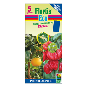 Trappola Cromotropica BIO Blu Flortis 5 pz