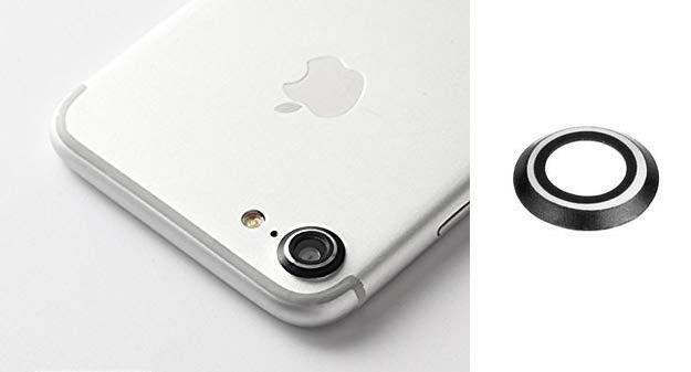 Obiettivo fotocamera posteriore per IPHONE 7 protezione anello di protezione