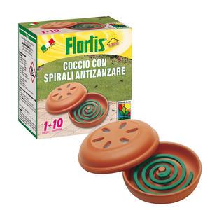 Porta Zampirone Coccio con 10 Spirali Flortis