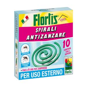Spirali Antizanzara Flortis 10 pz
