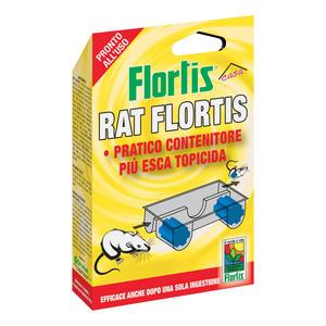 Rat Contenitore + Esca Topicida Flortis
