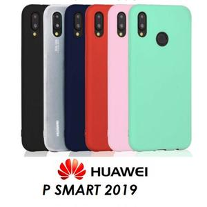 COVER Custodia Morbida Vari Colori GEL Silicone per Huawei P SMART 2019