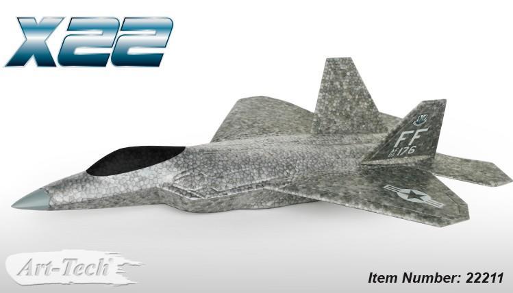 Aliante volo libero Art-Tech X22 EPO