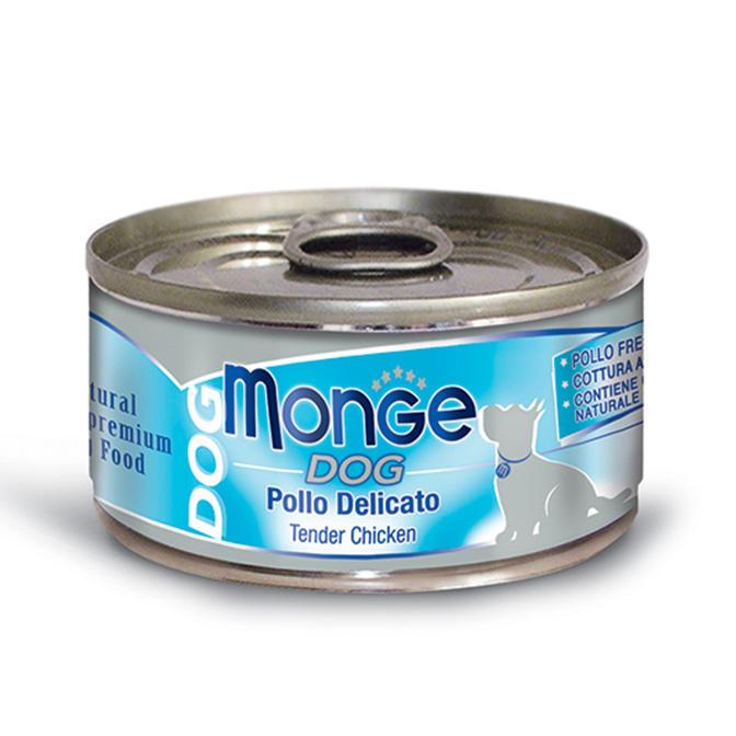 Cane - Pollo delicato Natural Monge 95 gr