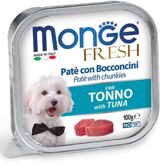 Cane - Tonno Fresh Monge 100 gr
