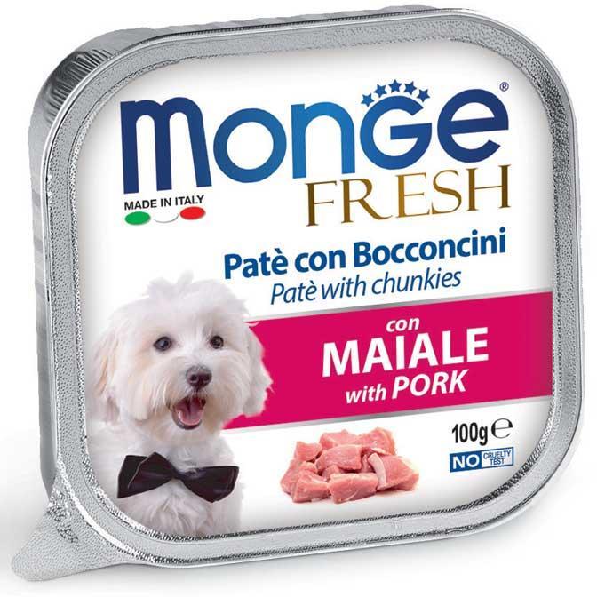 Cane - Maiale Fresh Monge 100 gr
