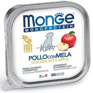 Cane - Pollo & Mela Junior Special Fruits Monge 150 gr