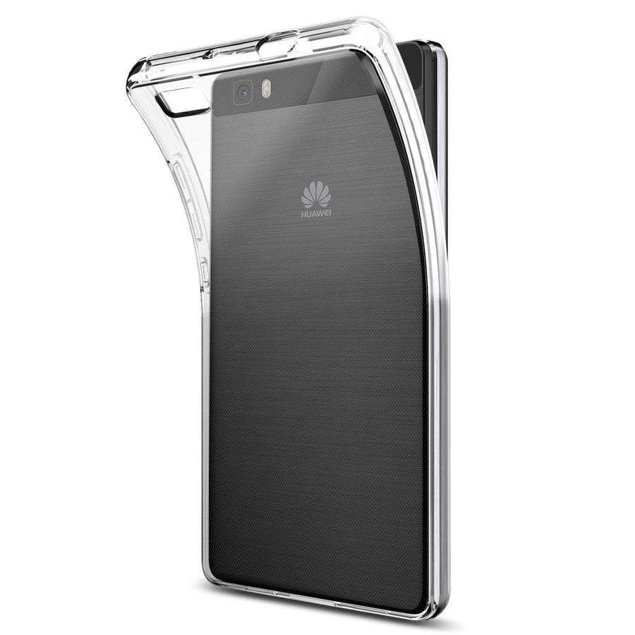 Cover Custodia Morbida Per Huawei P8 Lite Trasparente Silicone Protettiva