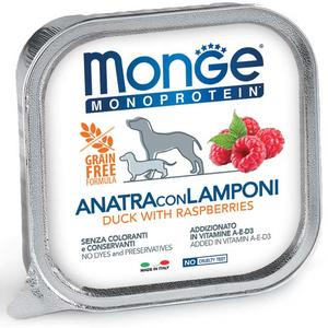 Cane - Anatra & Lamponi Special Fruits Monge 150 gr