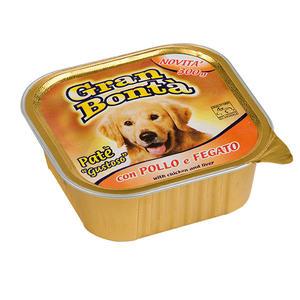 Cane - Pollo & Fegato Gran Bontà Monge 300 gr