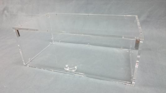Vetrina in plexiglass porta brioche e alimenti - L 60