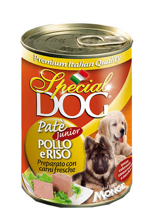 Cane - Patè Pollo Junior Special Dog Gialla Monge 400 gr