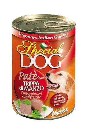Cane - Trippa di Manzo Special Dog Rossa Monge 400 gr