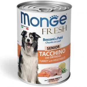 Tacchino Vegetale Senior Fresh Monge 400 gr