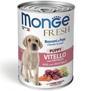 Vitello Vegetale Puppy Fresh Monge 400 gr
