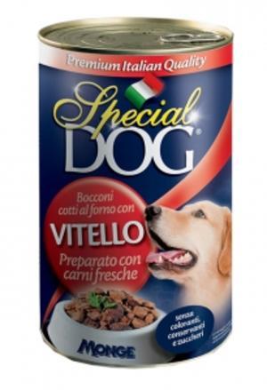 Cane - Vitello Special Dog Rossa Monge 1275 gr