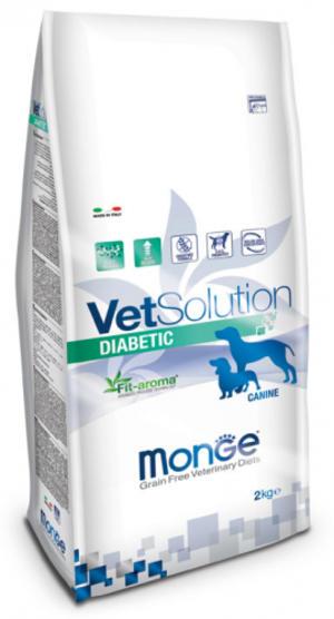 Canine - Diabetic Vetsolution Monge 2 Kg