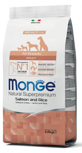 All Breeds Salmone & Riso Monge
