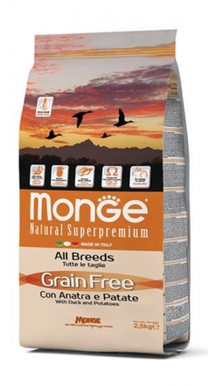 Grain Free All Breeds Anatra & Patate Monge
