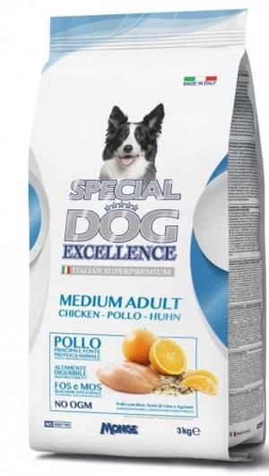 Medium Adult Special Dog Excellence Monge 3 Kg