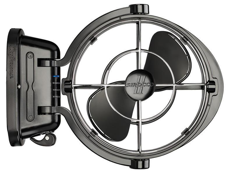 Ventilatore Caframo mod. Sirocco II Nero - Offerta di Mondo Nautica 24