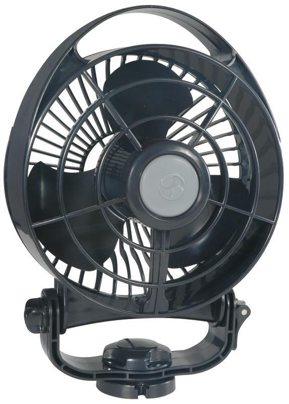 Ventilatore Caframo mod. Bora col. Nero - Offerta Mondo Nautica 24