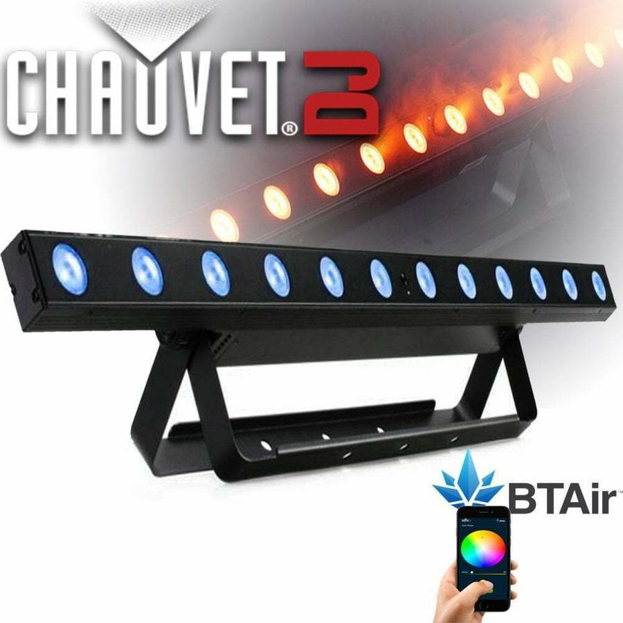 Chauvet DJ - Barra a led, 12 LED (tri-color RGB), 2.5W, Bluetooth
