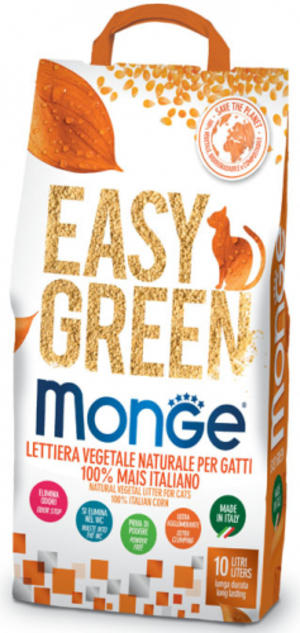 Lettiera Easy Green Mais Monge 10 L
