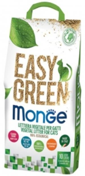 Lettiera Vegetal Easy Green Monge 10 L