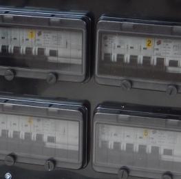 Quadro Elettrico 125A Trifase impilabile portatile in cassa chiusa 1/59F