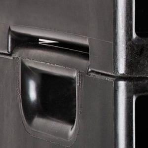 Quadro Elettrico 63A Trifase impilabile portatile in cassa chiusa 1/72F