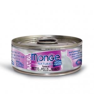 Gatto - Pollo & Manzo Natural Monge 80 gr