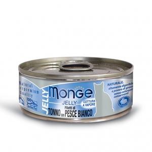 Gatto - Tonno & Pesce Jelly Monge 80 gr