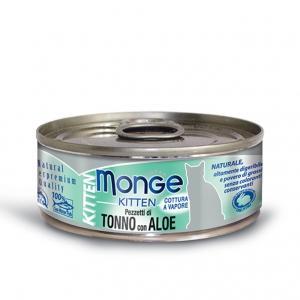 Gatto - Pezzetti Tonno & Aloe Kitten Monge 80 gr