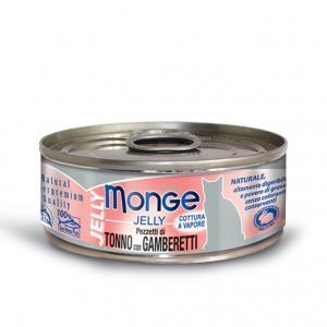 Gatto - Tonno & Gamberetti Jelly Monge 80 gr