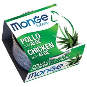 Pollo & Aloe Monge Fruit 80 gr