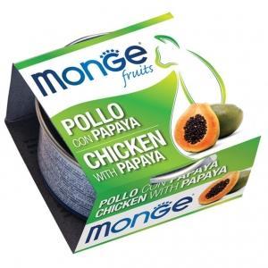 Pollo & Papaya Monge Fruit 80 gr