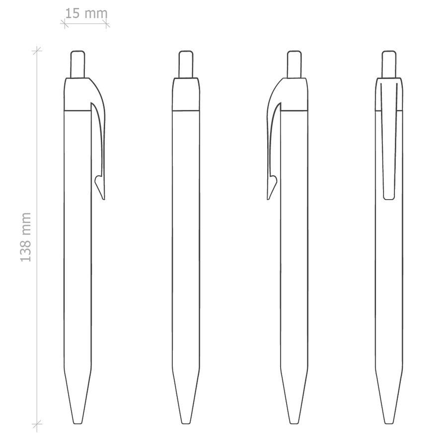 Penna Personalizzata E15840 da 100 pz