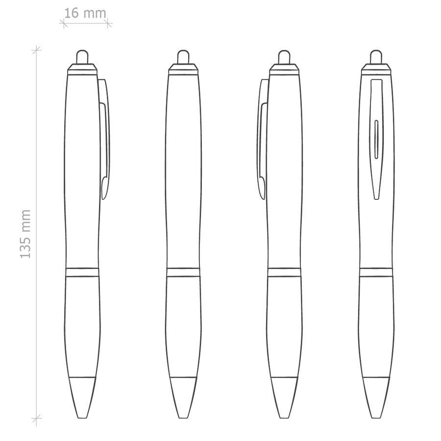 Penna Touch Screen Personalizzata PE13842 da 50 pz